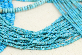 American Turquoise Polished 3-4mm Chips