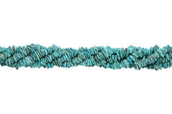 American Turquoise Polished 8-10mm Tumbled Chips