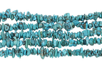 American Turquoise Polished 8-4mm Nugget