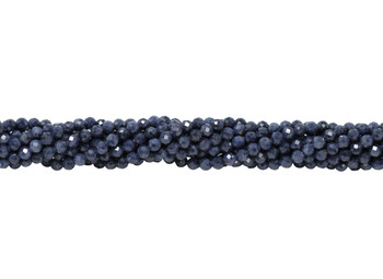 Sapphire Polished 3mm Faceted Round