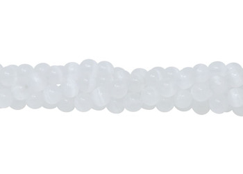 Selenite Natural 10mm Round