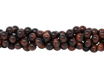 Red Tiger Eye Grade A Polished 10mm Round