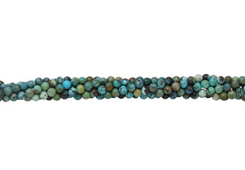 Chinese Turquoise Multi Color Polished 4mm Round