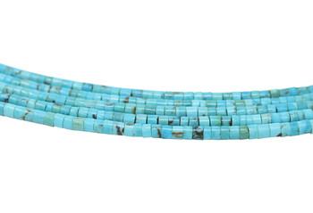 Nacozari Turquoise Polished 4-5mm Heishi