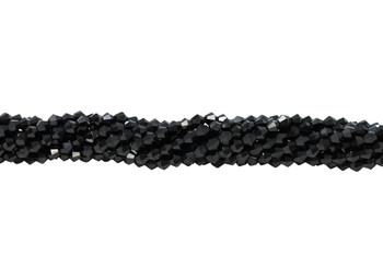 Black Spinel Polished 4mm Bicone