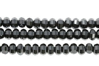 Black Spinel Polished 4x5mm Lantern