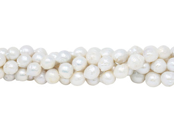 Freshwater Pearls 10-12mm Semi Round Baroque