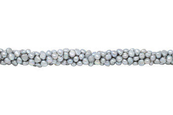 Freshwater Pearls Grey 8-9mm Nugget