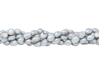 Freshwater Pearls Grey 7-8mm Nugget