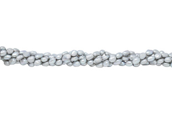 Freshwater Pearls Grey 7-8mm Nugget