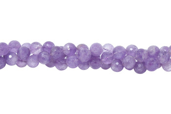 Amethyst Polished 16mm Faceted Round