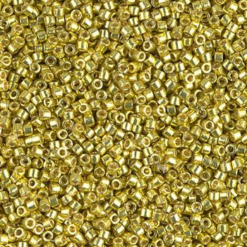 Delicas Size 11 Miyuki Seed Beads -- 1835 Duracoat Galvanized Zest