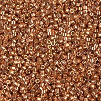 Delicas Size 11 Miyuki Seed Beads -- 1836 Duracoat Galvanized Muscat