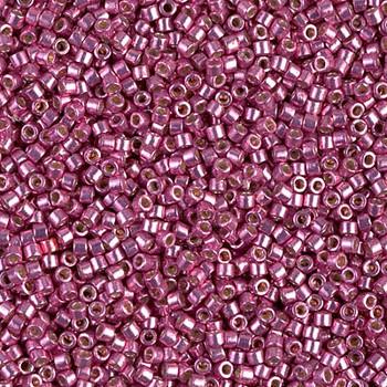 Delicas Size 11 Miyuki Seed Beads -- 1840 Duracoat Galvanized Hot Pink