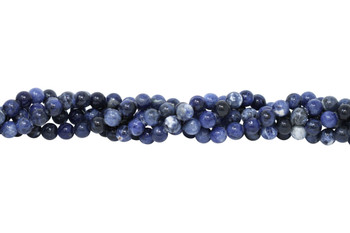 Sodalite Polished 10mm Round