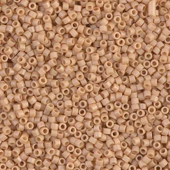 Delicas Size 11 Miyuki Seed Beads -- 389 Opaque Light Terra Cotta Matte