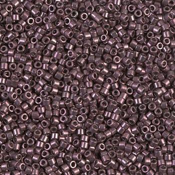 Delicas Size 11 Miyuki Seed Beads -- 454 Galvanized Dyed Light Purple