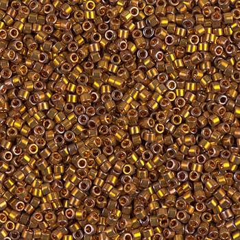 Delicas Size 11 Miyuki Seed Beads -- 505 Deep Yellow Gold