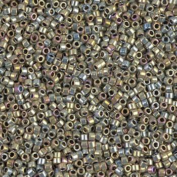 Delicas Size 11 Miyuki Seed Beads -- 546 Palladium