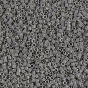 Delicas Size 11 Miyuki Seed Beads -- 731 Opaque Grey