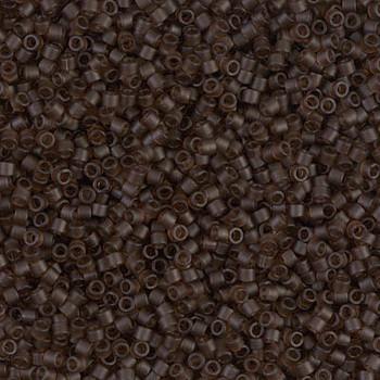 Delicas Size 11 Miyuki Seed Beads -- 769 Transparent Root Beer Matte