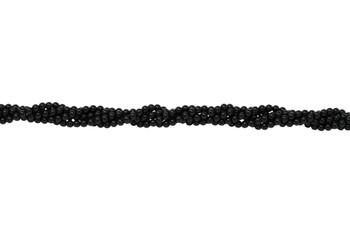 Black Onyx Grade A Polished 4mm Round