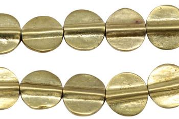 Brass 11mm Flat Round