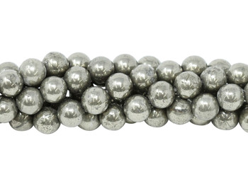 Pyrite A Grade Polished 8mm Round