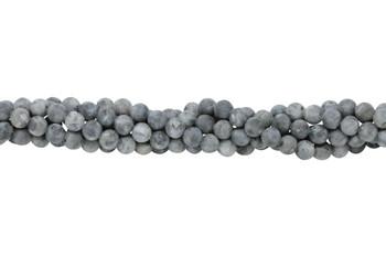 Larvakite Matte 6mm Round