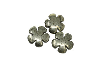 Pyrite Polished 20mm Flower