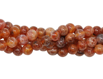 Fire Agate Grade A Polished 6mm Round