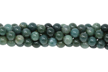 Moss Agate Polished 10mm Round