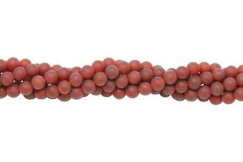 Carnelian Grade A Matte 6mm Round