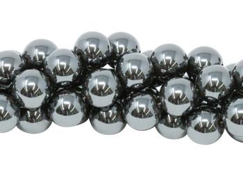 Hematite Polished 10mm Round