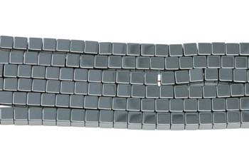 Hematite Polished 3mm Cube