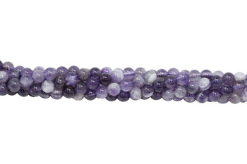 Dog Tooth Amethyst Polished 6mm Round