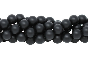 Black Onyx Matte 12mm Round
