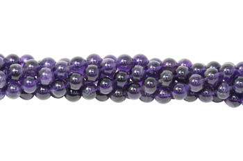 Amethyst A Grade Polished 10mm Round