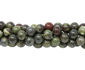 Dragons Blood Jasper A Grade Polished 8mm Round