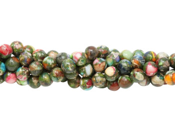 Impression Jasper Mix Polished 6mm Round
