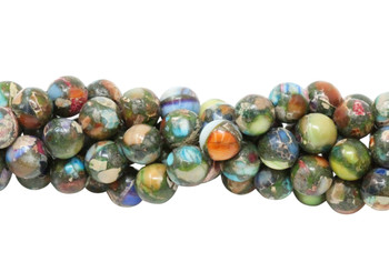 Impression Jasper Mix Polished 8mm Round
