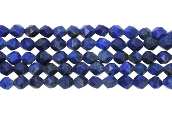 Lapis Lazuli Polished 6mm Star Cut