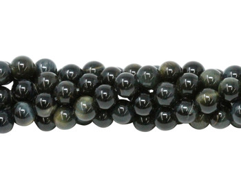 Blue Tiger Eye Grade A Polished 6mm Round