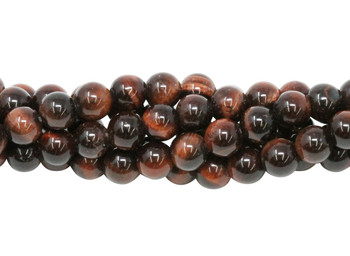 Red Tiger Eye Grade A Polished 6mm Round