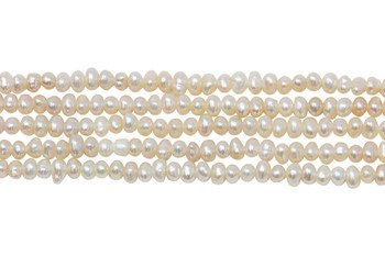 Pale Pink Freshwater Pearls 2.8-3.2mm Potato