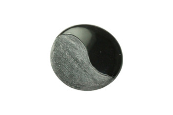 Buffalo Horn Half Matte 35mm Coin