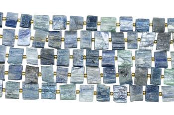 Kyanite Natural 10x14mm Rectangles