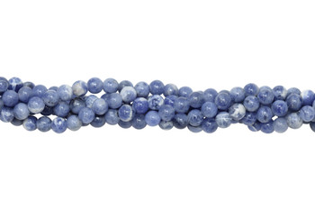 Light Blue Sodalite Polished 4mm Round