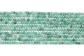 Emerald Polished 2x3mm Faceted Rondel