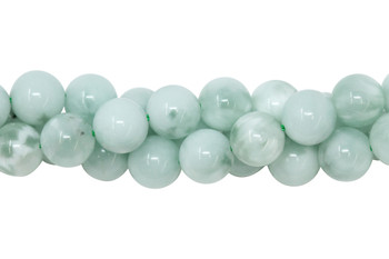 Green Angelite Polished 10mm Round